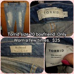 Torrid size 20 boyfriend